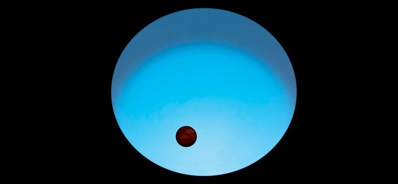 3200 Celsius-fok van ezen a különleges bolygón