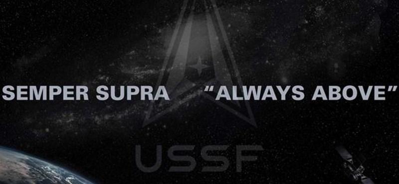 Megmutatták az űrhaderő új logóját, valószínűleg önnek is ismerős lesz