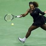 Serena Williams csak pszichológussal tudott tavaly ősszel továbblépni