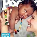 Sandra Bullock megmutatta titkos gyerekét - fotó