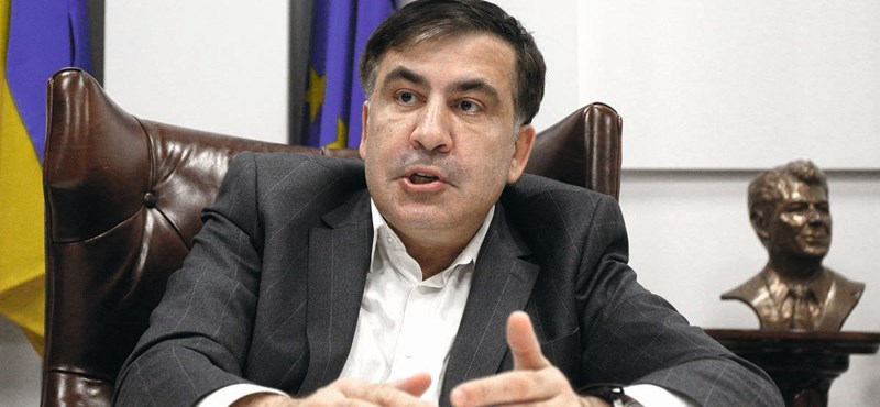 Európai körútra készül az Ukrajnából kitoloncolt Szaakasvili és tovább akar harcolni