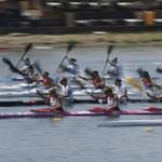 Négy döntős, négy középfutamos magyar egység 200 méteren a kajak-kenu Eb-én