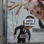 """Fotók: Átdolgozta az utca embere a """"Fidelitas"""" simicskás plakátját"""