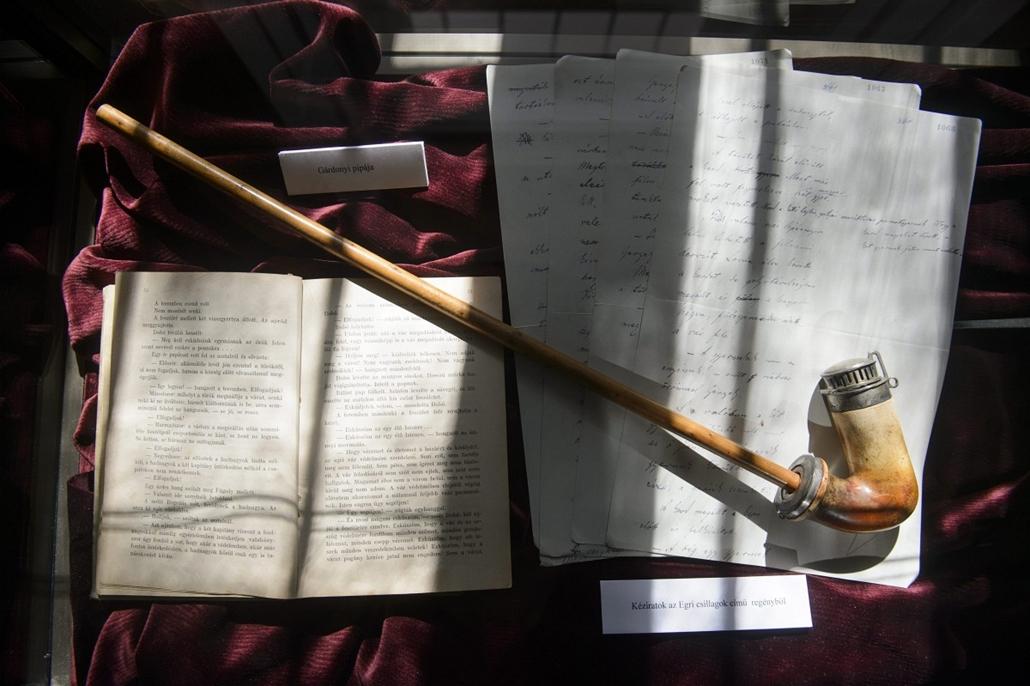 mti.14.03.18. - Eger: elavatták a felújított Gárdonyi Géza Emlékmúzeumot Egerben - L. Simon László, Habis László