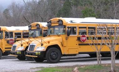 Egy igazán különleges búcsút találtak ki az iskolabuszok vezetői