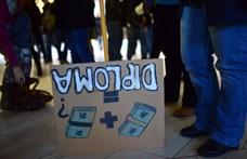 Egyre többen csatlakoznak az ELTE-s sztrájknaphoz