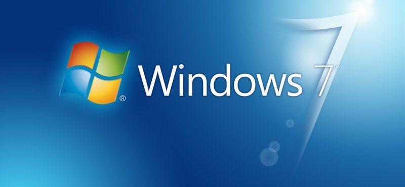 A Windows 7 végre lenyomta a Windos XP-t