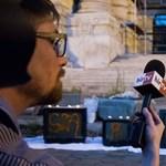 A Hír Tv is elment tudósítani a beszántása elleni tüntetésre