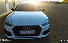 Szép fogás volt a magyar határon elkapott Audi