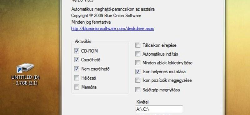 Így jelenhetnek meg a csatlakoztatott eszközök automatikusan a Windows Asztalán