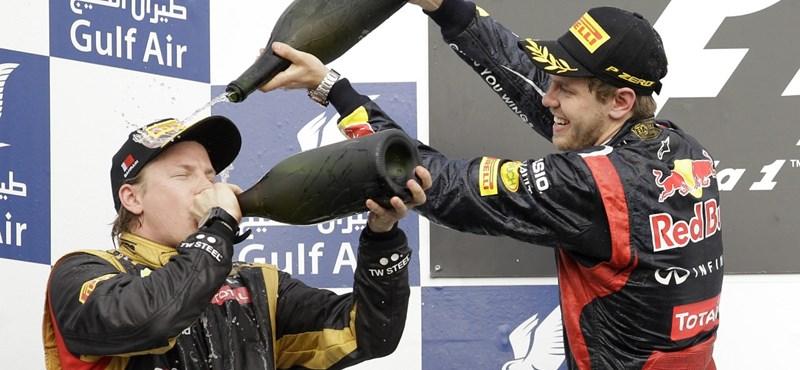 F1: hidegre tették a mezőnyt