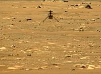 Túl van a második repülésén a NASA marsi helikoptere, videó is készült róla