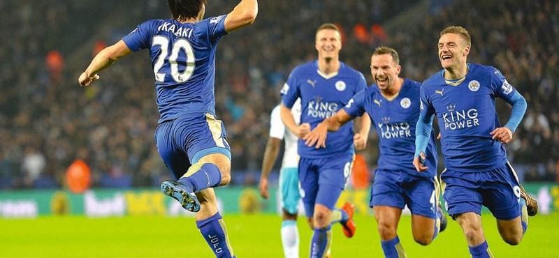 A Leicester City még nem angol bajnok, de már majdnem