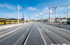 Újabb villamosfelújítás kezdődik Budapesten, most nem a 4-6-os vonalon
