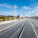 Pótlóbusz jár az 1-es villamos egy szakaszán
