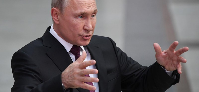 Putyin elismerte, hogy fegyverkísérlet volt a nukleáris baleset