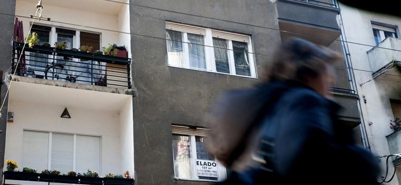 Több ezer eladatlan lakás van Budapesten