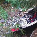 Tragikus ralibaleset: ennyi maradt a Fiat Punto S2000-ből