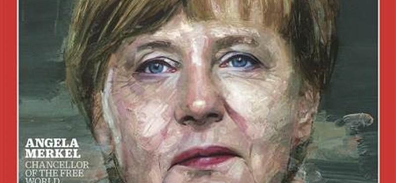 Angela Merkel az év embere a TIME magazin szerint