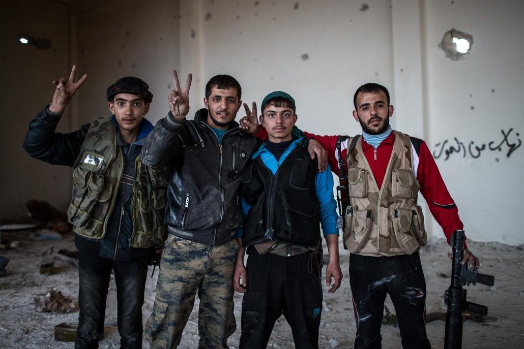 NE használd_! - Magyar fotográfusok háborús képei 100 éve és ma - nagyítás - Aleppó, Szíria - 2013. február 13.