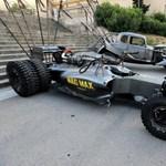 Látott már Forma-1-es autót Mad Max stíusban?
