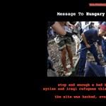 """Figyelmeztetést küldtek a """"menekültekkel rosszul bánó"""" magyar kormánynak a marokkói hackerek"""