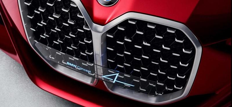 A 4-es BMW is óriási veséket kapott, hogy tetszik?