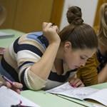 A középiskolák fele nem tart írásbeli felvételit