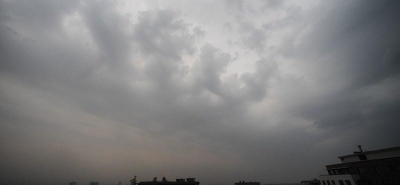 Viharos szél, eső jön a pénteki kánikula előtt