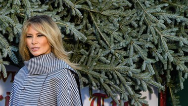 Melania Trump a járvány ellenére megtartja a karácsonyi rendezvényeket