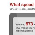 Mérje meg, milyen gyorsan olvas e-bookot!