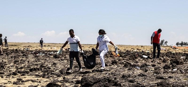 Két perccel késte le a vasárnap lezuhant etióp gépet egy görög utas