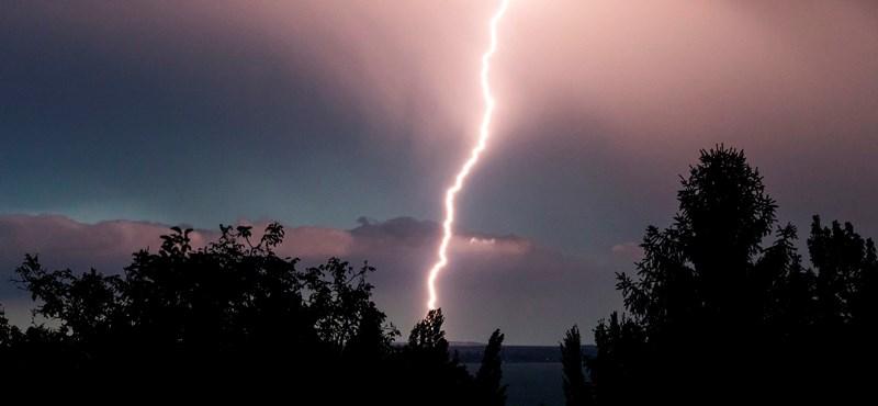 Szinte az egész országban lehetnek ma viharok