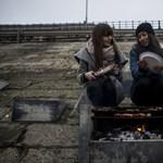 Már begyújtották a közösségi grillt az egyetemisták - Fotók