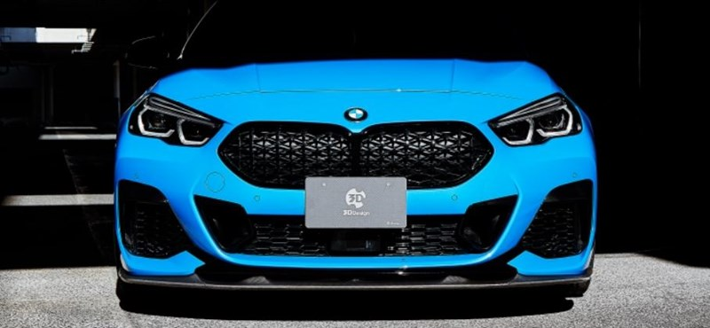 Kis tuninggal legalább látványos a fronthajtású BMW