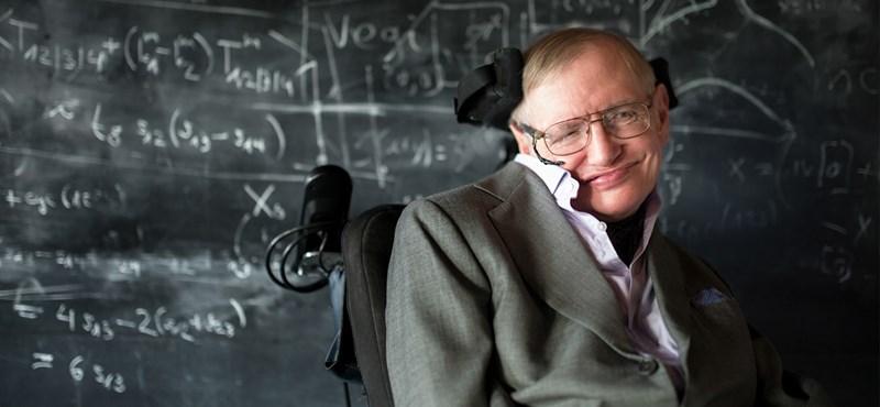 Viccnek is jó lenne, de ez most komoly: időutazókat is várnak Stephen Hawking temetésére