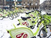 Vasárnap éjjel leáll a Bubi, de tavasszal 1200 új bringa érkezik