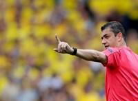 Kassai Viktor megsérült, a magyar-szlovák játékvezetője ugrik be helyette