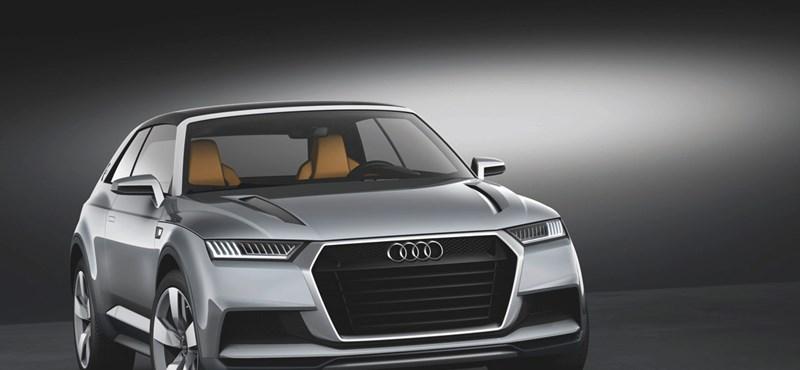 Egyre nagyobbak a SUV-ok, jön az Audi Q8