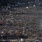 Milliók buliztak a pápával a Copacabana strandon