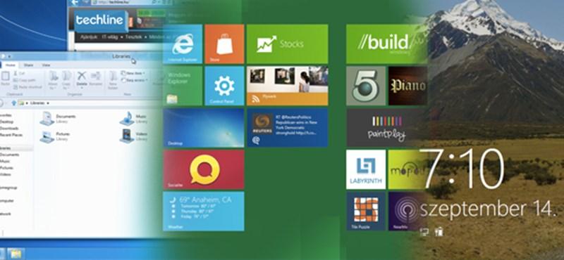 Windows 8: mit tud majd valójában? Kipróbáltuk a DP verziót!