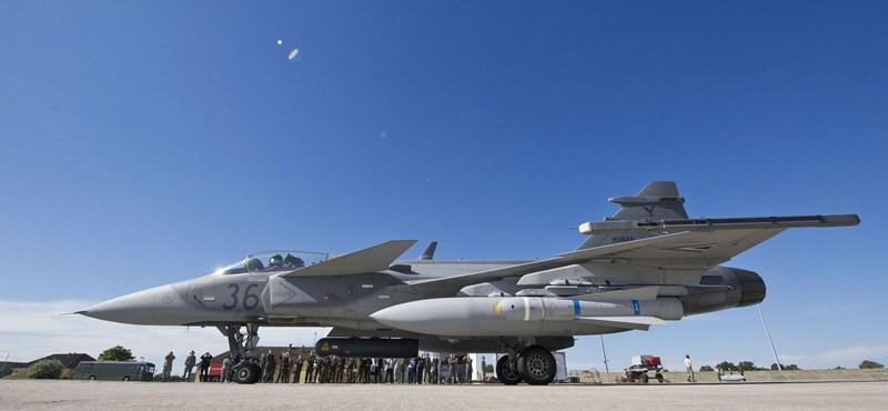 Néma repülőgép miatt riasztották a Magyar Honvédség Gripenjeit