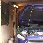 Kiszakadt egy menekülő autótolvaj kocsikereke a XVI. kerületben