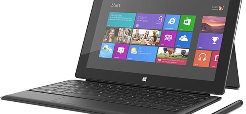 Kevés lesz a tárhely a 64 GB-os Surface Próban?