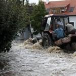 Árvíz: napok óta esik – Nagyítás-fotógaléria