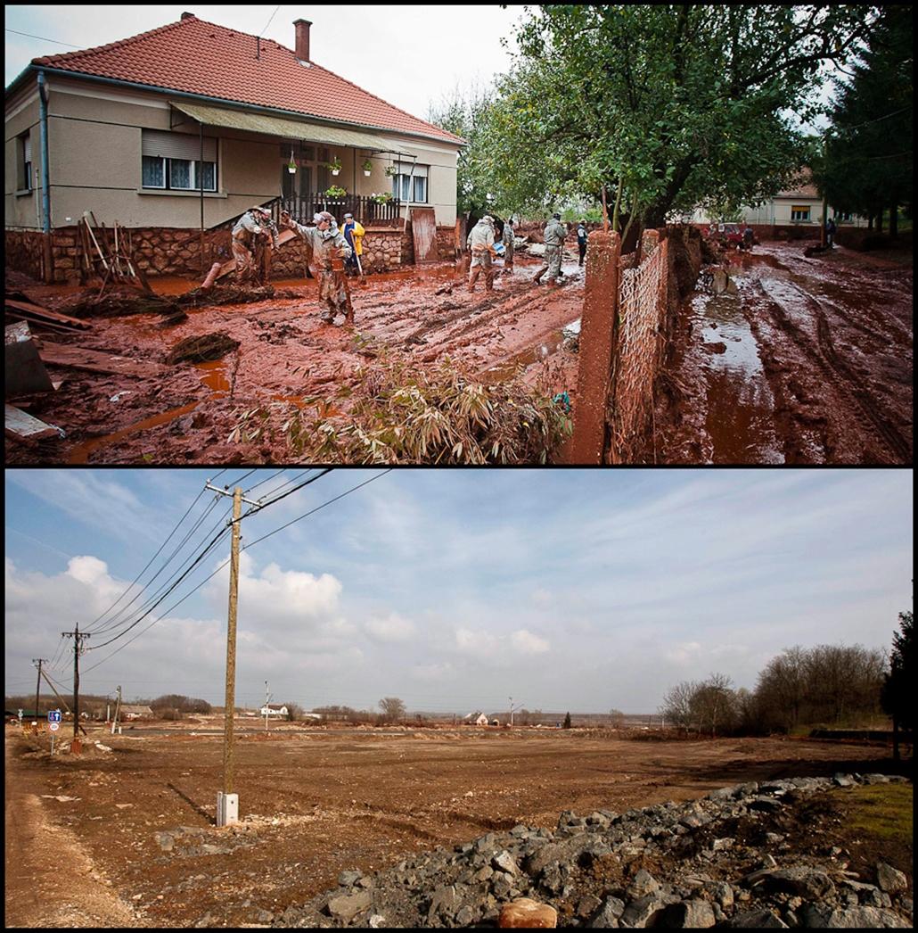 Devecser Kolontár vörösiszap katasztrófa évforduló
