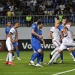 Fontos győzelem Bakuban: Azerbajdzsán-Magyarország 1-3