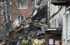 Gázrobbanás történt egy orosz lakóházban