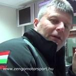 Humor: így oktatja a csapatfőnök Michelisz Norbit - videó
