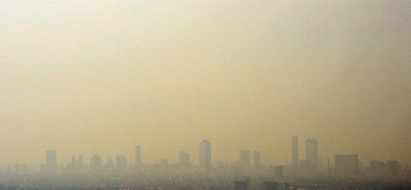 Ismét sok településen rossz a levegő